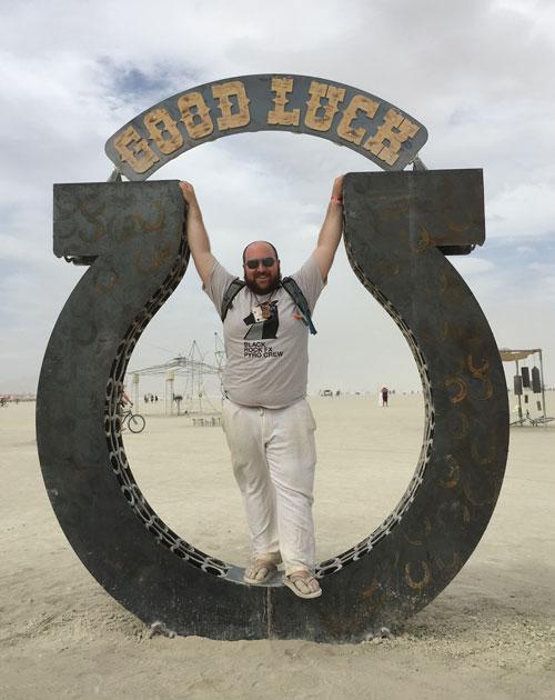 Good Luck at Burning Man