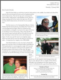 Steve's Epic Journey - Fiji & New Zealand